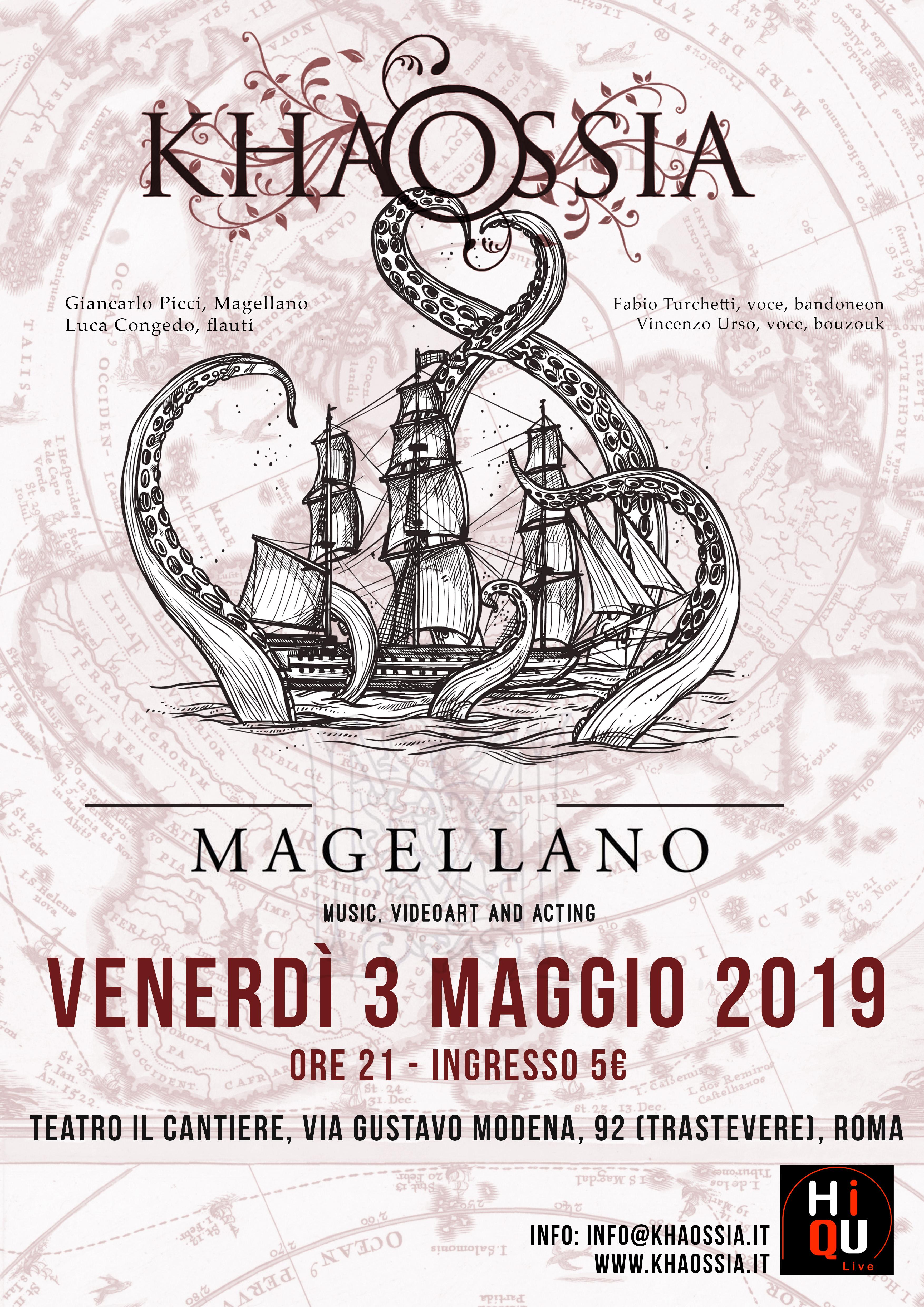 Magellano in Teatro a Roma