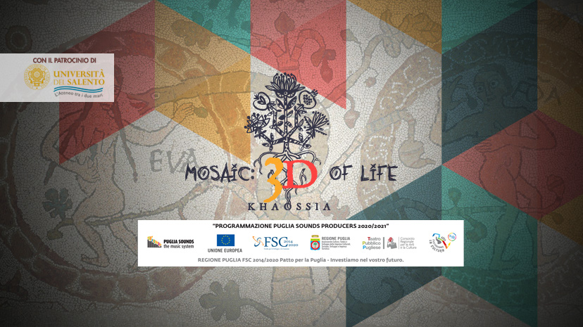 Mosaic 3D of Life
