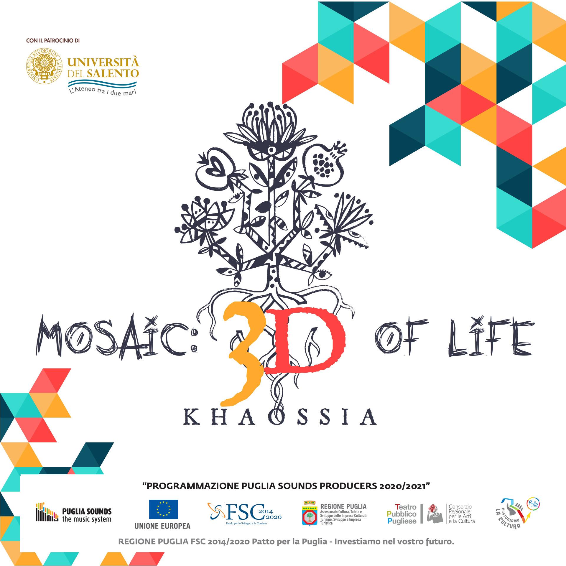 Mosaic 3D of Life a Otranto per il Solstizio d'Estate 2021