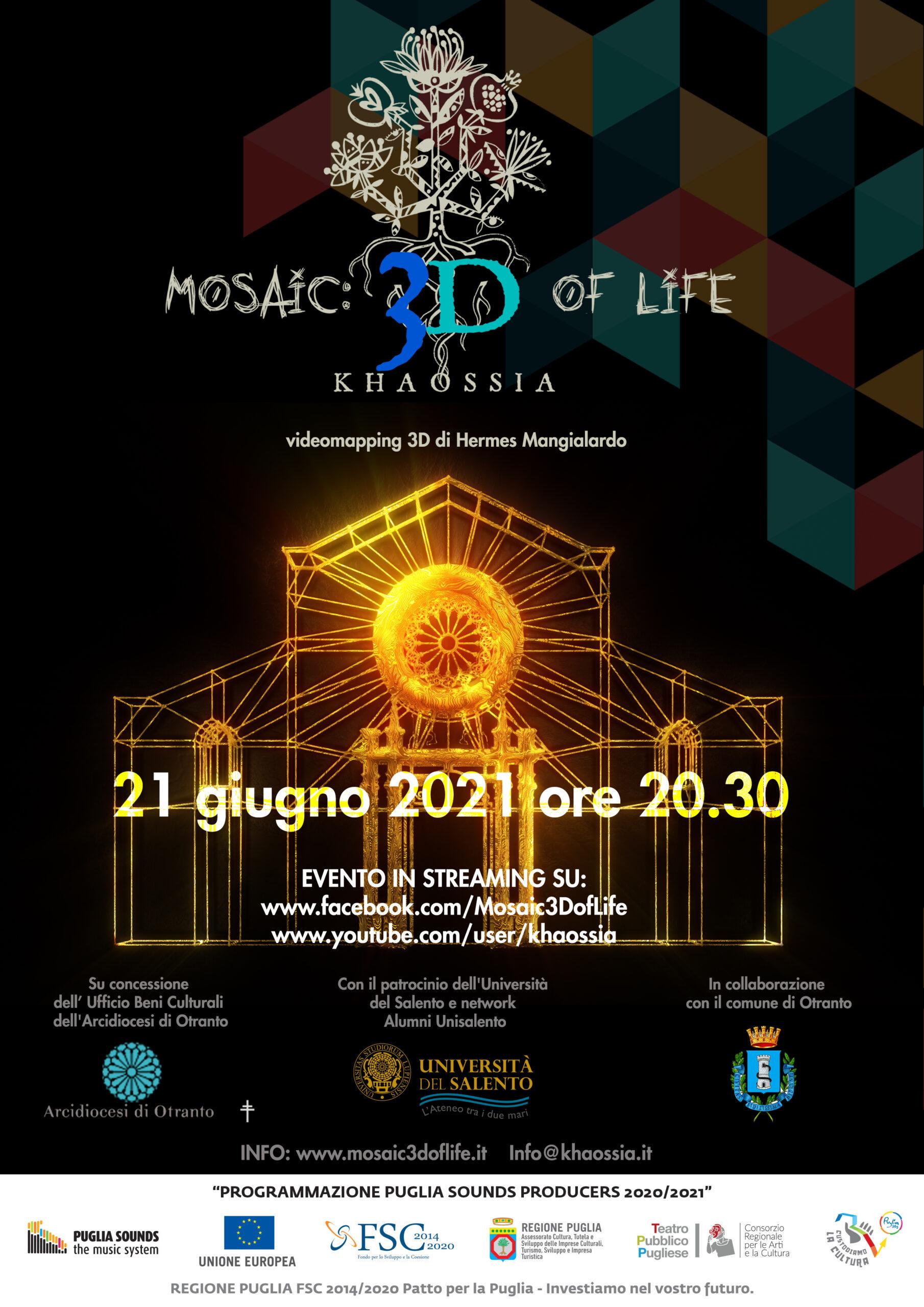 Mosaic 3D of Life – Il solstizio d'estate